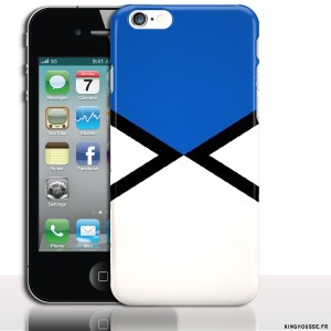 Coque silicone iphone 4 Captain America